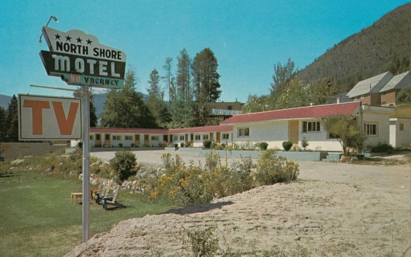 NELSON , B.C. , 50-60s ; North Shore Motel