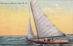 New Jersey Atlantic City Yachting At Atlantic City 1909