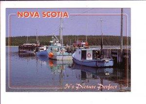 It's Picture Perfect, Fishing Wharf, Nova Scotia