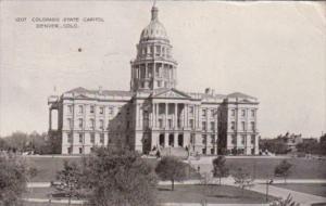 State Capitol Building Denver Colorado 1909