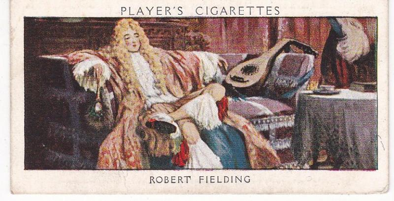 Cigarette Card Player's Dandies No 12 Robert Fielding