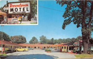 West Eugene Oregon~Downtown Motel~'Free Morning Coffee~Classic Cars-Truck~1970s
