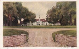 Virginia Mount Vernon Bowling Green Entrance
