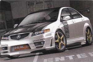 4 Door Acura, Street Racing Car PC #5