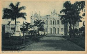 brazil, SALVADOR BAHIA, Gymnasio da Bahia (1920s) Catilina Postcard