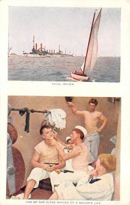 Naval Review Sailor's Life Unused