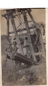 E63/ Yukon Canada RPPC Postcard c1910 Gold Dredge Occupational Mining 2