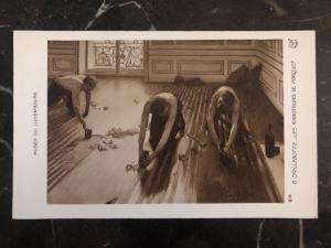 Mint Luxembourg RPPC Postcard The Floor Planers Museum Of Luxembourg