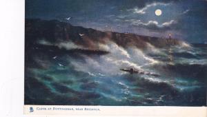 TUCK #1488: SUSSEX, England, UK, 1900-1910s; Cliffs At Rottindean, Near Brighton
