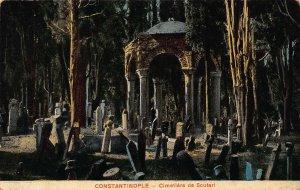 Turkey Constantinople Cimetiere de Scuteri Cemetery Postcard