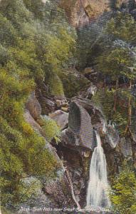 Bash River Falls Near Great Barrington Massachusetts 1909