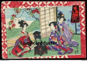 dc337 - JAPAN 1905 Geisha Women in Kimonos. Real Japanese Series by Tuck