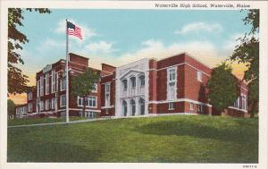 Waterville High School, Waterville, Maine, 30-40s