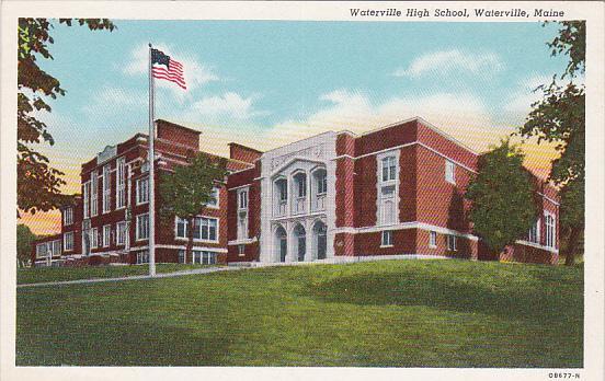 Waterville High School, Waterville, Maine, 30-40s
