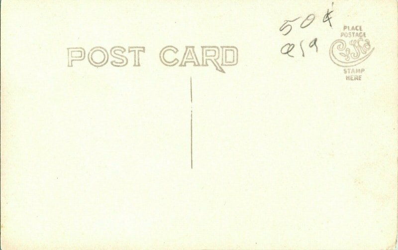 Vtg Carte Postale Cppr 1904-20 Cyko - Inconnu Cloche Tour & Cloche En Ruines Unp