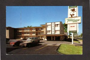 MO TraveLodge Travel Lodge TravelLodge Hotel Motel Kansas City Missouri Postcard