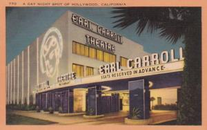 Clifornia Hollywood Earl Carroll Theatre