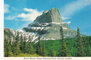 Canada Roche Miette Jasper National Park Alberta