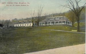 BRADFORD, Pennsylvania, PU-1913; Country Club