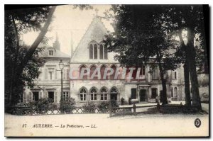 Postcard The Old Auxerre Prefecture