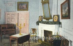 Mrs Washington's Sitting Room