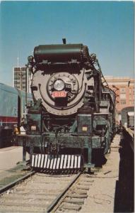 The american freedom  train locomotive number 610