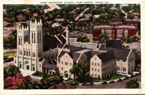Texas Fort Worth First Methodist Church 1943