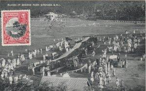 Planes at Queens Park , GRENADA , B.W.I. , PU-1934