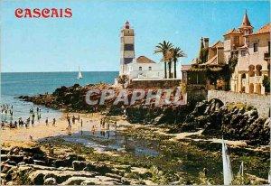 Postcard Modern Cascais Portugal