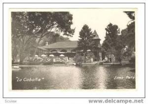 RP  La Cabana , Lima, Peru, 1920-30s