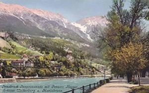 Innpromenade Mit Pension Kayser, Schloss Weiherburg u. Mariabrunn, Innsbruck ...