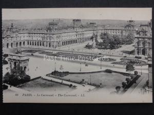 France PARIS Le Carrousel LL.49 by Levy early 1900's