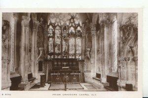 Cambridgeshire Postcard - Prior Craudens Chapel - Ely - Real Photo - Ref 18958A