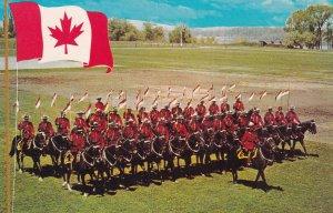RAINY RIVER, Ontario, Canada, 1940s-Present; Musical Ride Royal Canadian Moun...