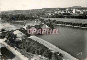 Postcard Modern Avignon (Vaucluse) Bridge St. Benezet