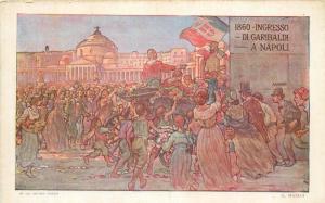 Italy 1911 Artist A. Maiani 1960 Ingresso di Garibaldi a Napoli