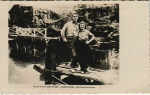 CPA Janet Gaynor and Charles Farrell FILM STAR (1072339)