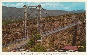ROYAL GORGE, Colorado , 1940-60s; South View, Suspension Bridge