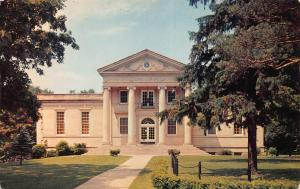 Lane Library, Ripon College, Ripon, Wisconsin, Postcard, Unused
