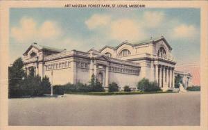 Art Museum Forest Park Saint Louis Missouri1946