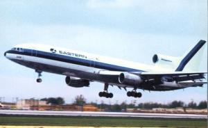 Eastern Airlines Lockheed L-1011 Tristar - Landing at Miami Airport