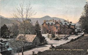 Grasmere Prince of Wales Hotel, Carriages (English Lake District) 1906