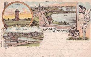 Gruss aus CUXHAVEN , Germany , 1900