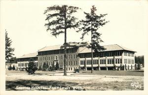 Fort Lewis Washington~Army Station Hospital~1950 Ellis Real Photo Postcard~RPPC
