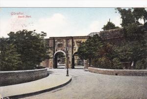 South Port, GIBRALTAR, PU-1909