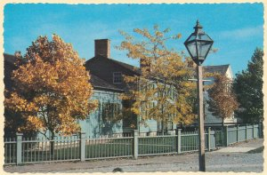 Genesee Country Museum - Mumford NY, New York - Foster-Tufts House from Pavilion