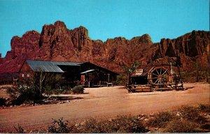 Mining Camp Restaurant Prospector's Dinners Vtg. Postcard Standard View Card #2