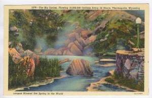 Big Spring, 18,600,000 Gallons/day, Thermopolis, Wyoming, PU-1952