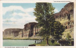 Scenic view,  Palisades Park,  Green River,  Wyoming,   00-10s