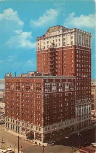 Detroit Michigan~Hotel Pick-Fort Shelby on Lafayette Boulevard & 1st Street~1963